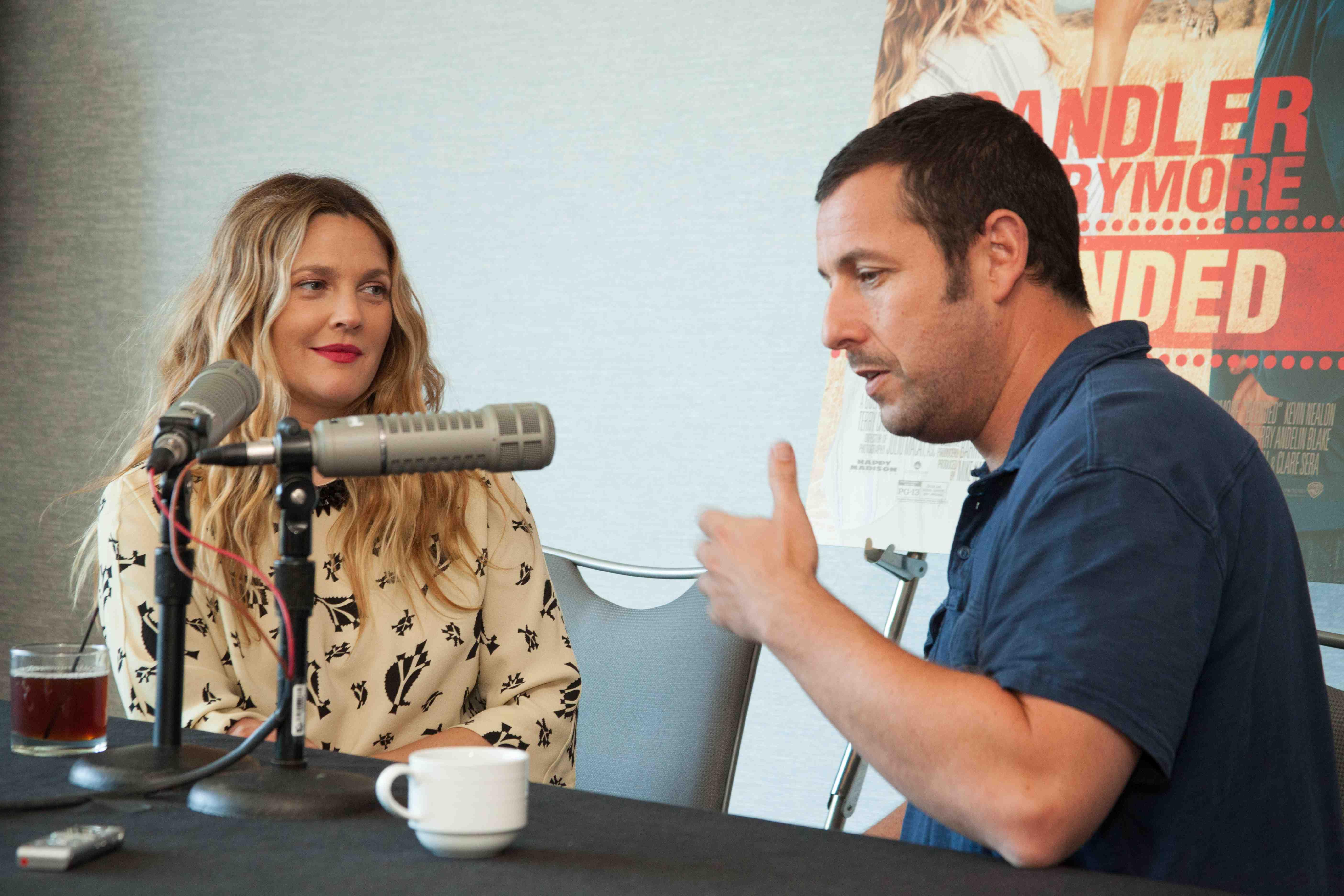 Drew Barrymore Adam Sandler Blended