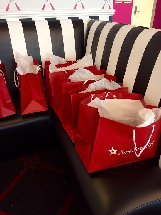 American Girl Goodie Bags