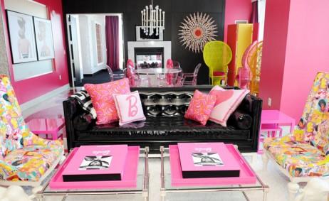 Hot Pink Barbie Suite at Palms Las Vegas