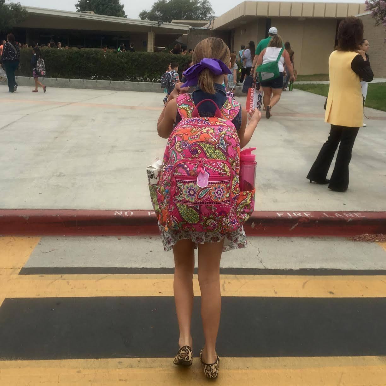 4th Grade Back to School Photo