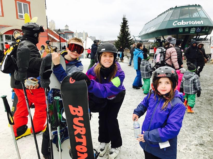 Ski Week Montreal with Kids Mont Tremblant